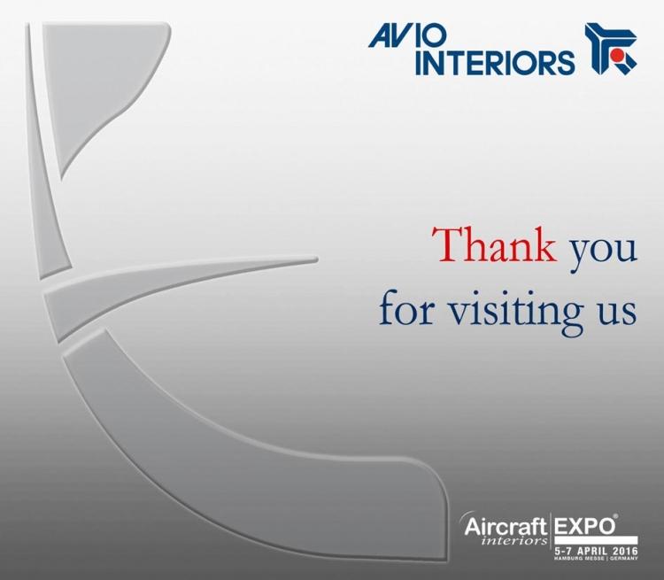 Thank you for visiting us at Aircraft Interiors Hamburg