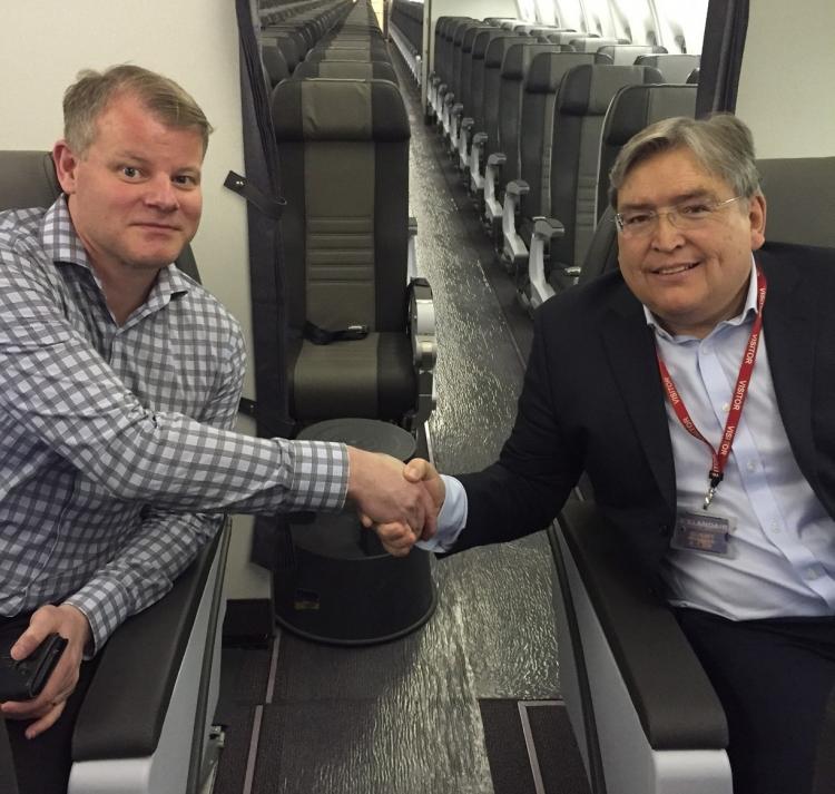 Aviointeriors meets Icelandair