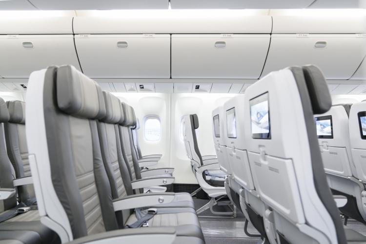 Icelandair new B767-300 with Aviointeriors seats
