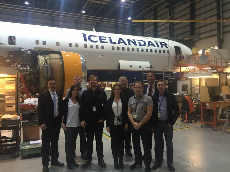 New agreement with Icelandair for B737MAX