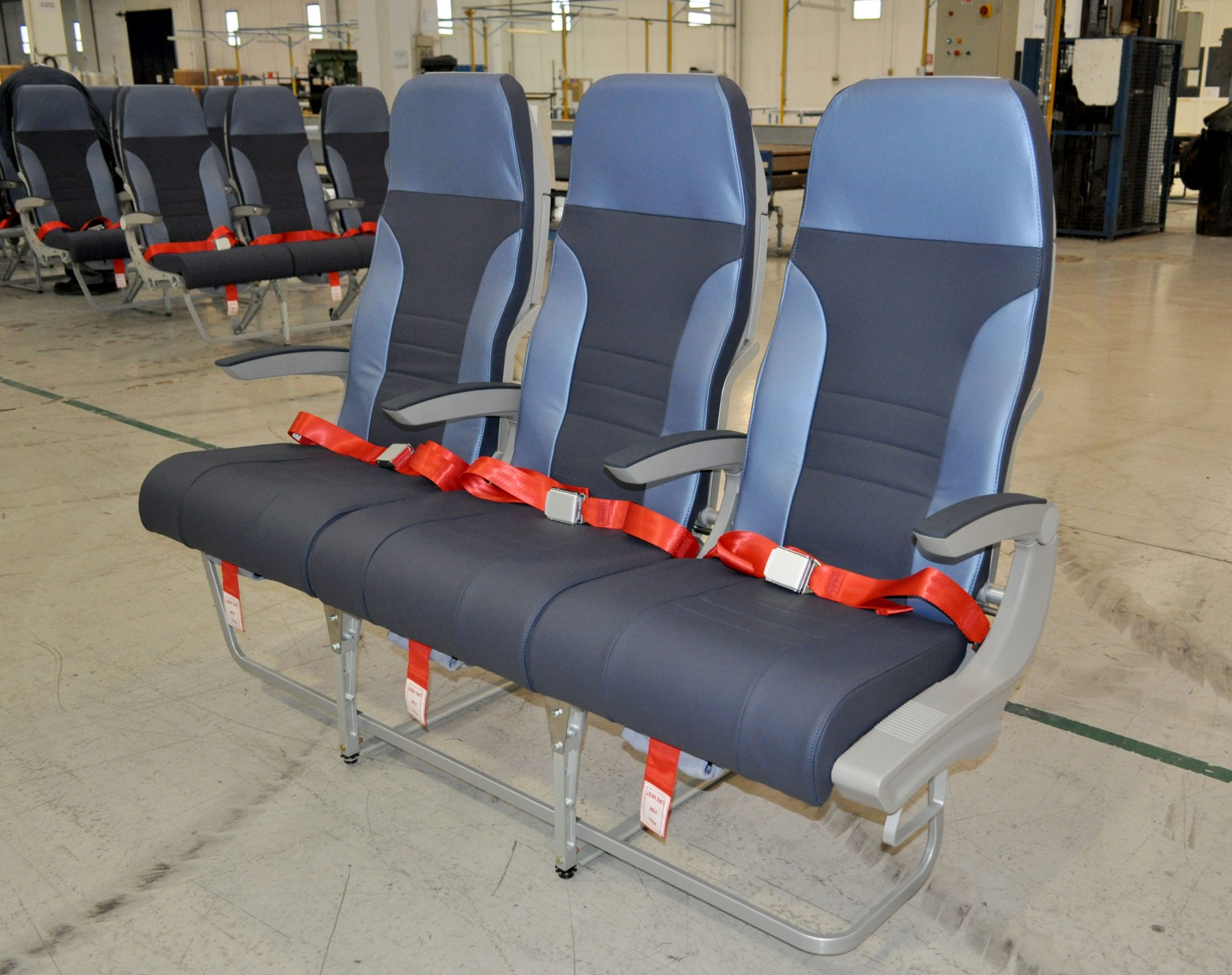 Delivery of new seat to Rossiya Airlines