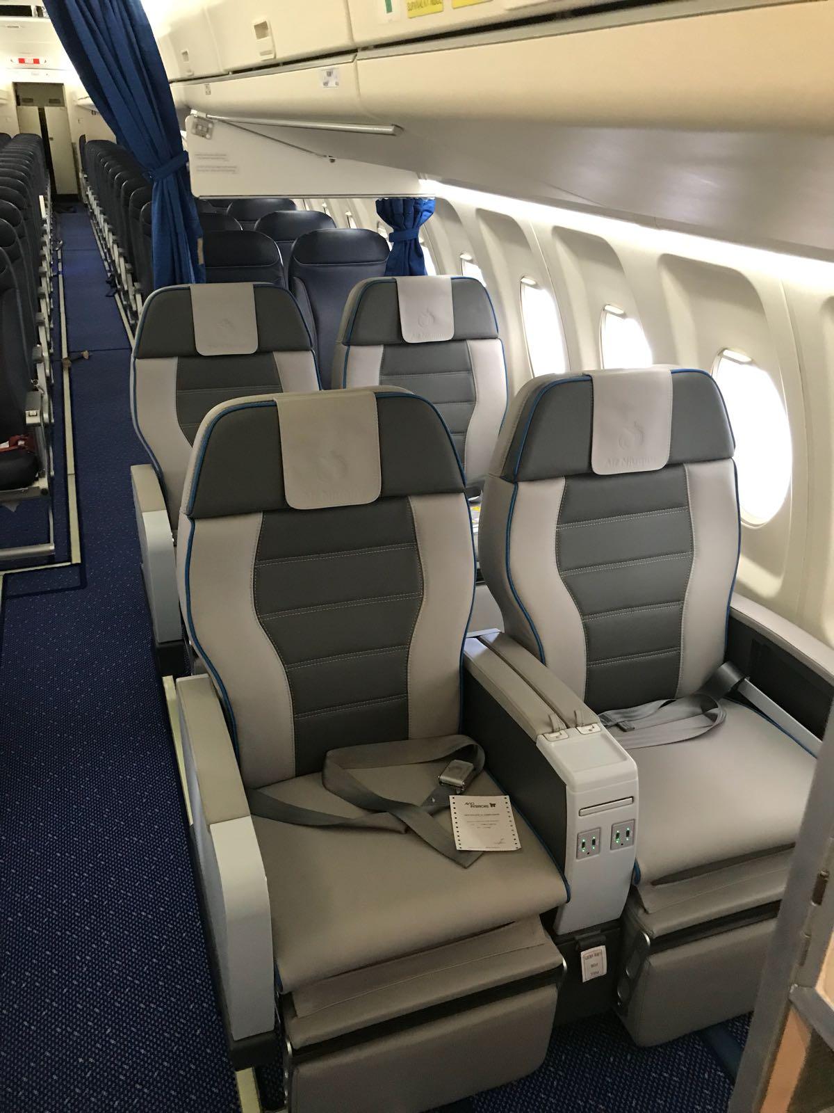 Air Niugini new Fokker fleet with Aviointeriors seats