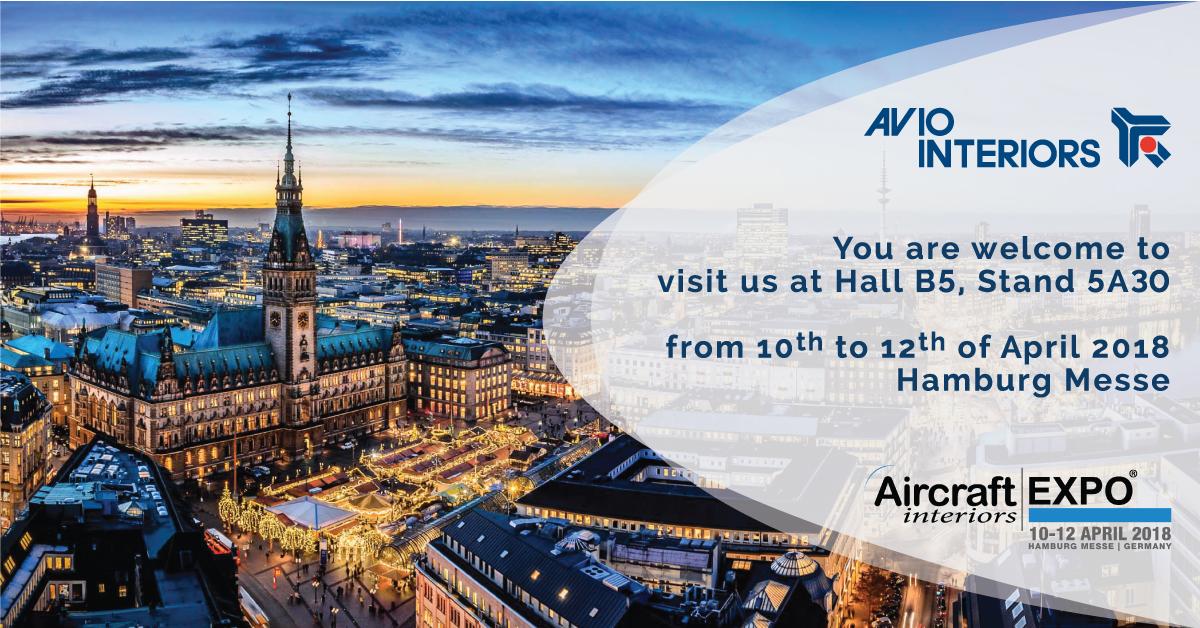 AIRCRAFT INTERIORS EXPO HAMBURG 2018
