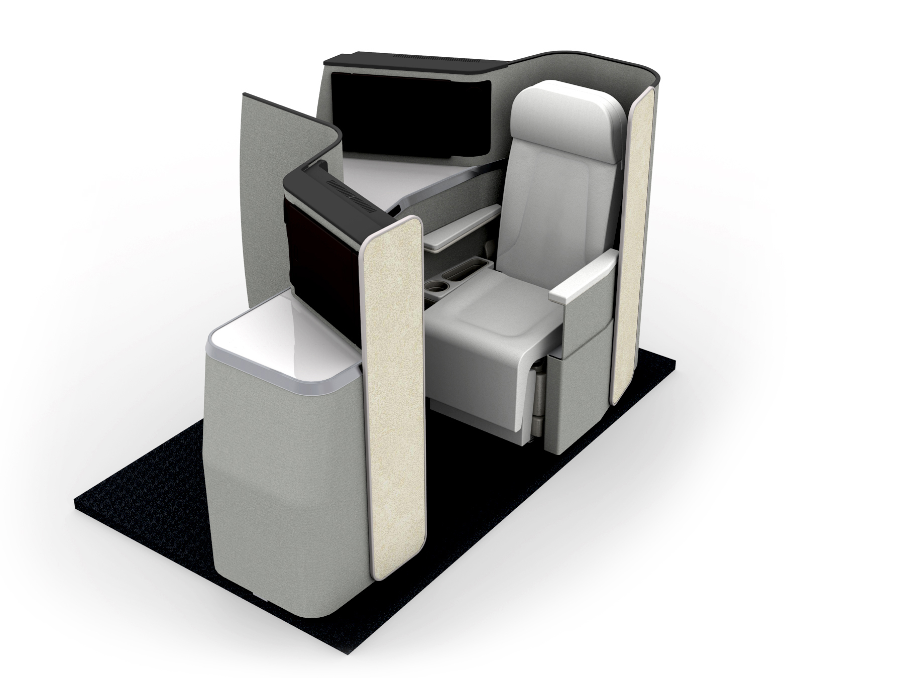 Aviointeriors new Business Class seat – ADAGIO