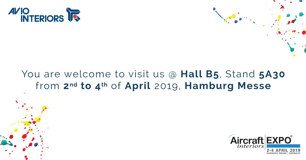 Aircraft Interiors Expo 2019 – Hamburg